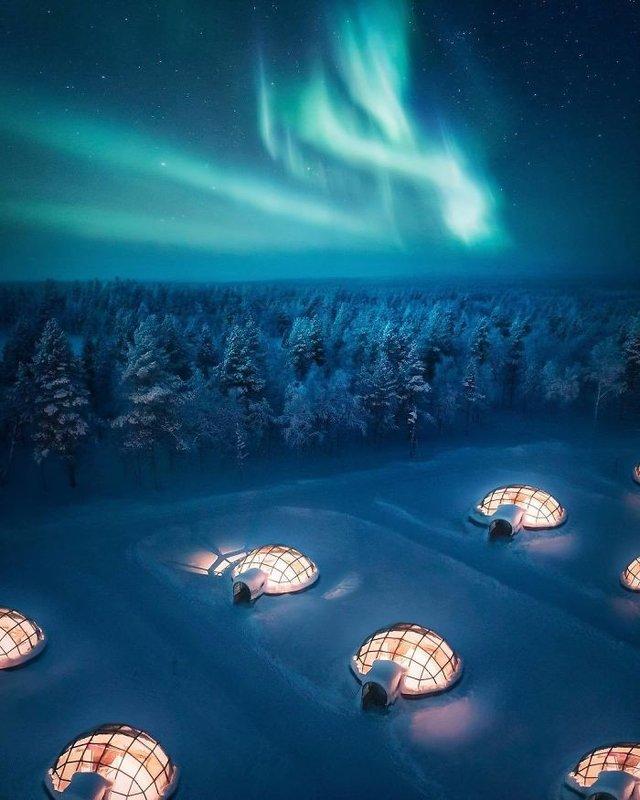 Фінляндець робить вражаючі фото, які нагадують казку - фото 394656
