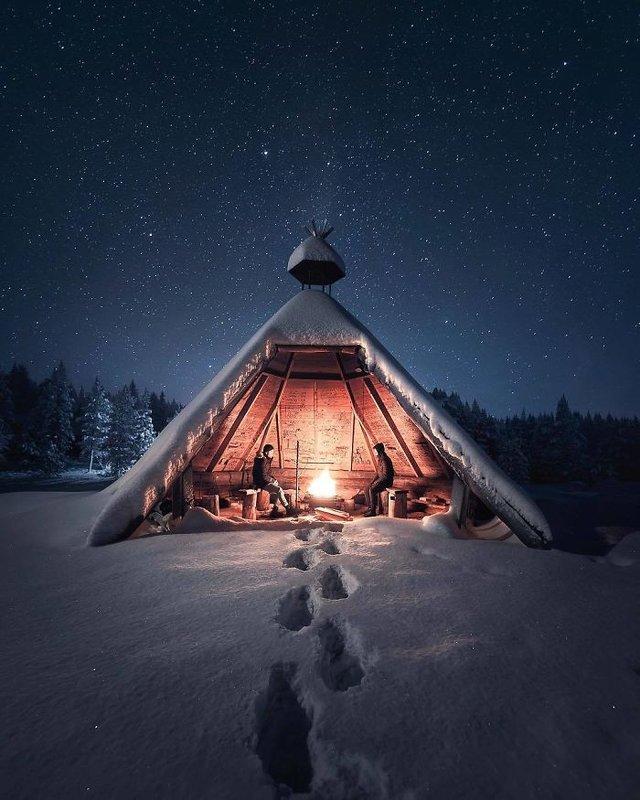 Фінляндець робить вражаючі фото, які нагадують казку - фото 394657