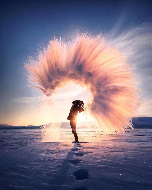 Фінляндець робить вражаючі фото, які нагадують казку - фото 394662