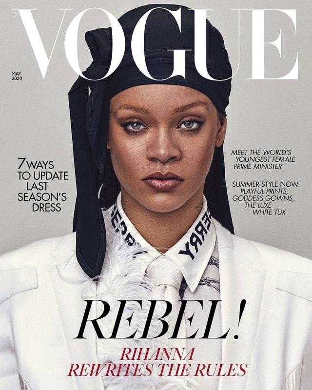 Rihanna нового десятиліття: поп-зірка знялась для британського Vogue - фото 395272