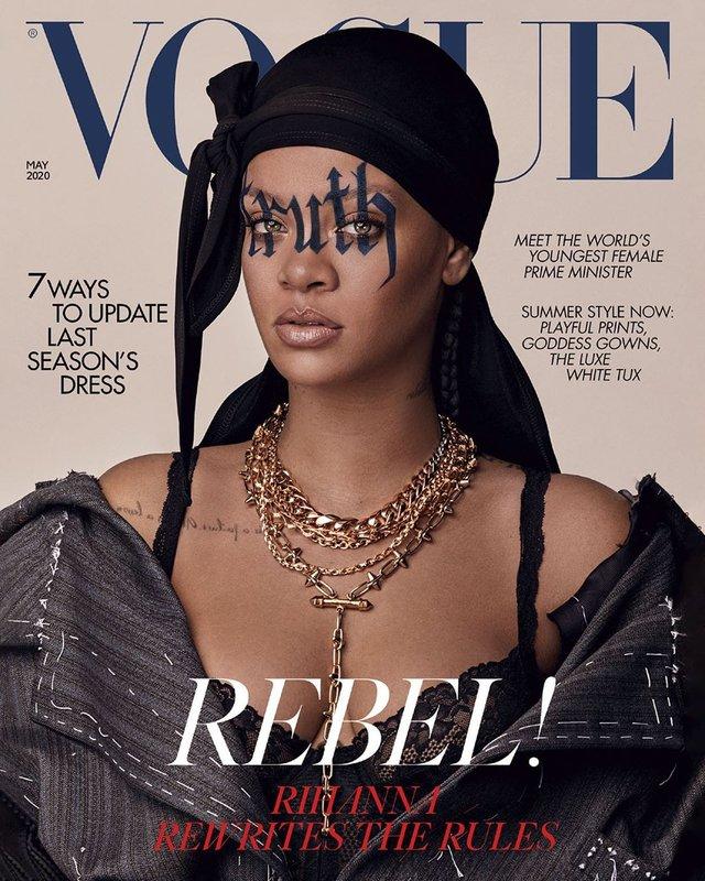 Rihanna нового десятиліття: поп-зірка знялась для британського Vogue - фото 395274