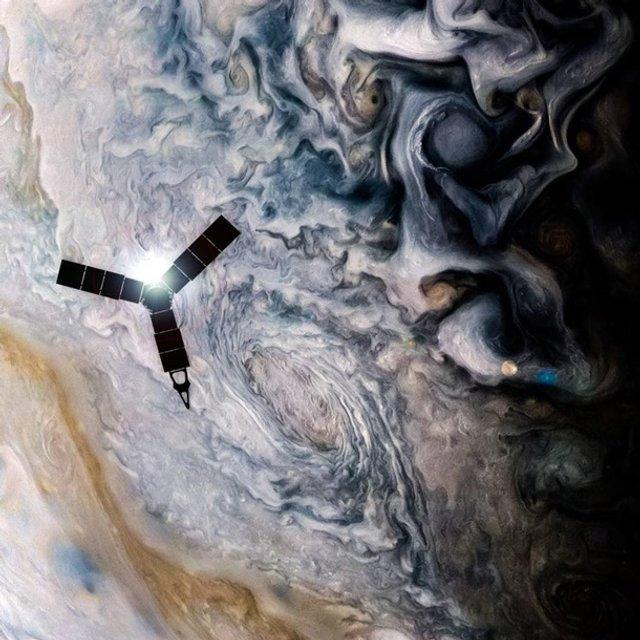 У NASA показали Юпітер на нових знімках: зачаровує - фото 395284