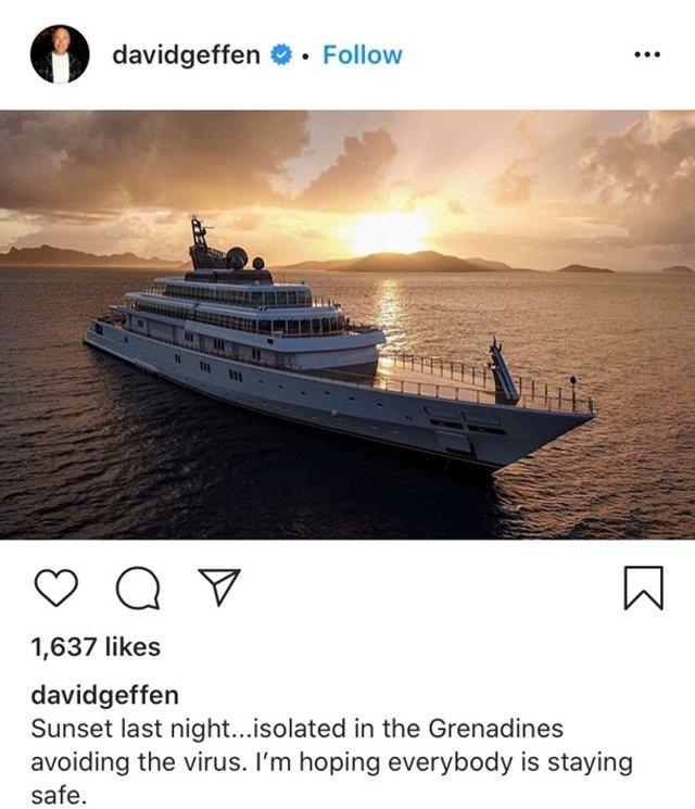 Мільярдер сів на карантин на найбільшій приватній яхті у світі - фото 395416