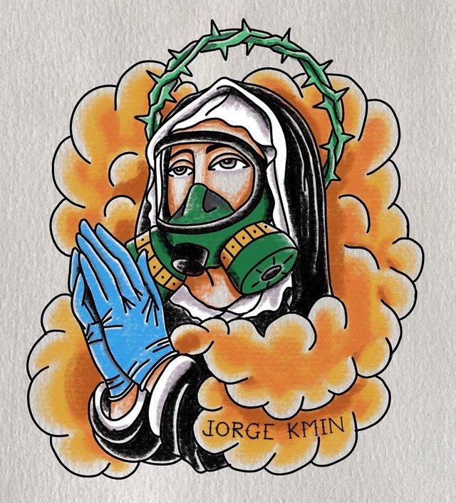 Коронавірусу почали масово 'присвячувати' татуювання: новий тренд - фото 395426