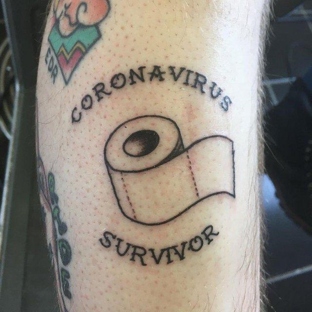 Коронавірусу почали масово 'присвячувати' татуювання: новий тренд - фото 395427