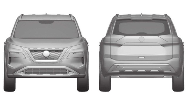 У мережу 'злили' ескізи оновленого Nissan X-Trail - фото 395549