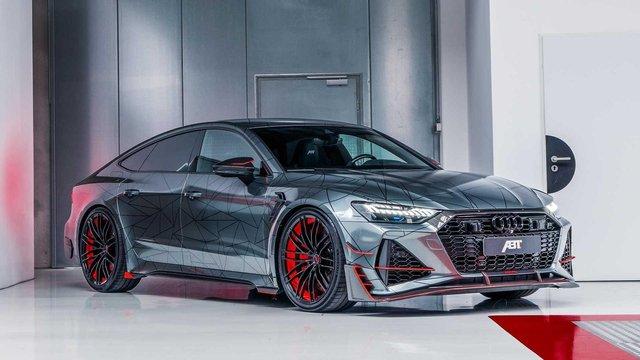 Audi RS7 перетворили на 740-сильний суперкар - фото 395697