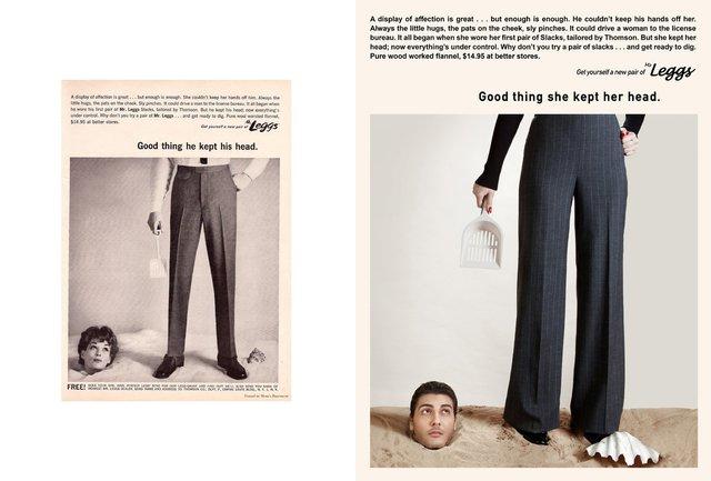 Художник переробив сексистську рекламу, помінявши місцями чоловіків і жінок - фото 396534