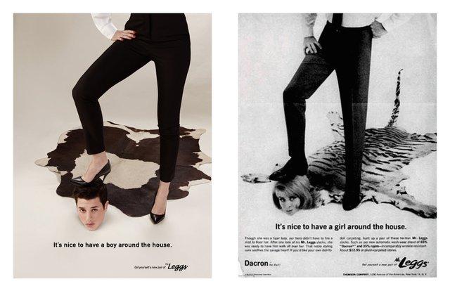 Художник переробив сексистську рекламу, помінявши місцями чоловіків і жінок - фото 396536