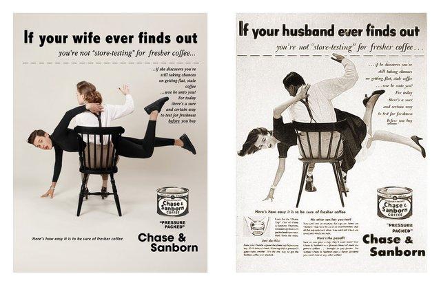 Художник переробив сексистську рекламу, помінявши місцями чоловіків і жінок - фото 396537