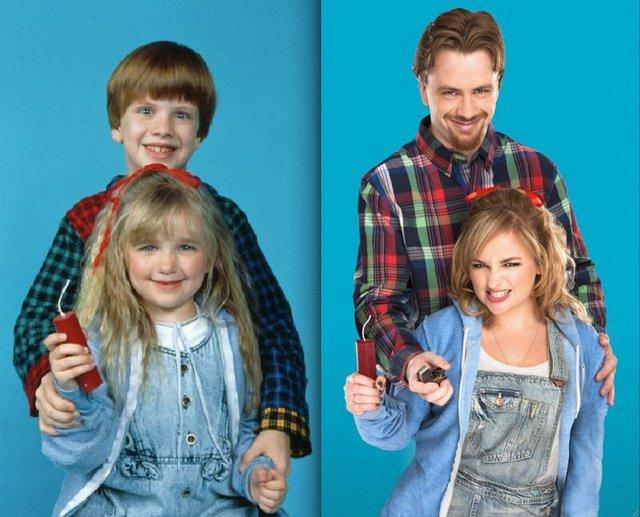 Проблемна дитина: дивіться, як змінилися актори за 30 років - фото 396635