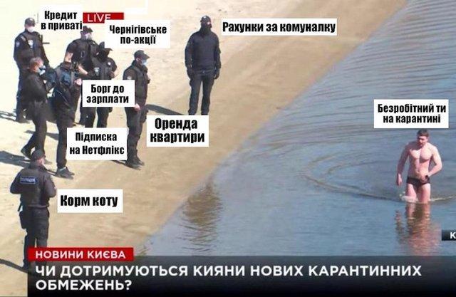 Киянин пояснив, чому намагався уплав потрапити на Гідропарк: відео - фото 396675
