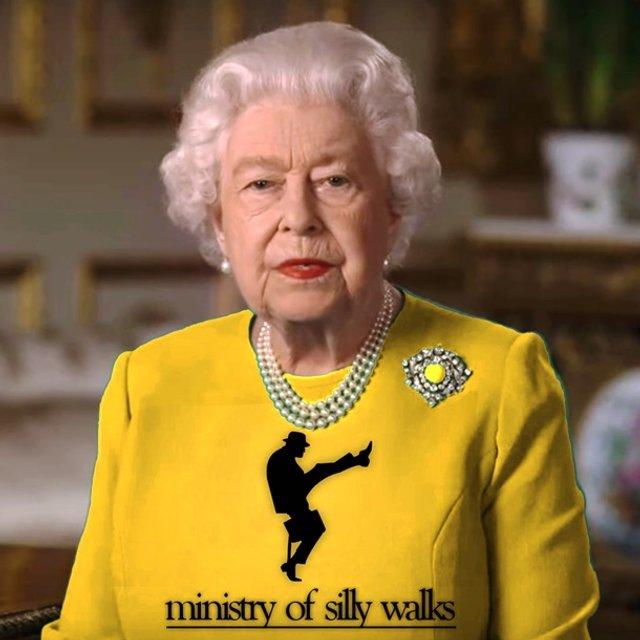 Єлизавету II перетворили на новий мем - фото 396694