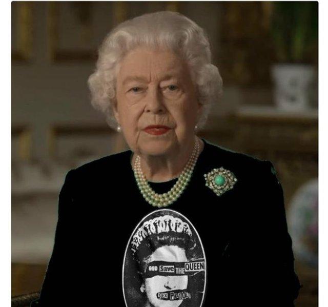 Єлизавету II перетворили на новий мем - фото 396697