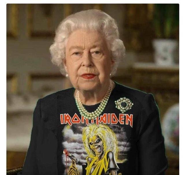 Єлизавету II перетворили на новий мем - фото 396699