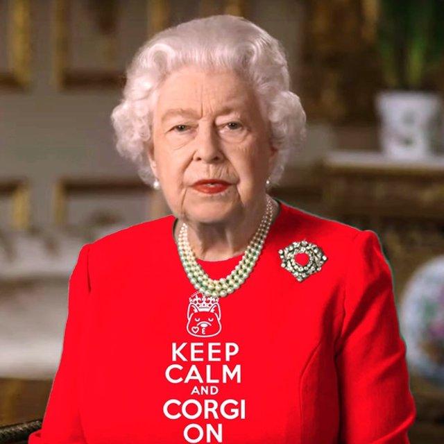 Єлизавету II перетворили на новий мем - фото 396702