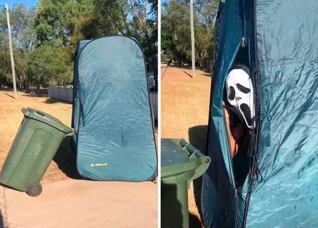 Австралійці влаштували флешмоб-маскарад біля сміттєвого бака - фото 397103