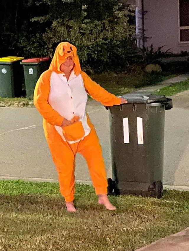 Австралійці влаштували флешмоб-маскарад біля сміттєвого бака - фото 397111