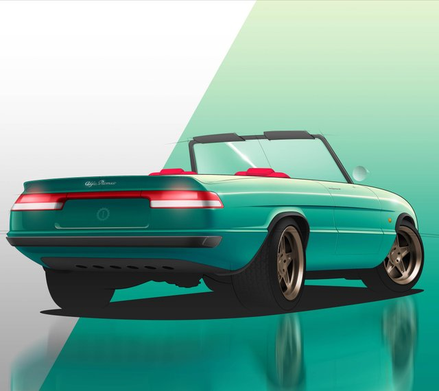 Культовий італійський кабріолет 80-х стане електрокаром: фото - фото 397185