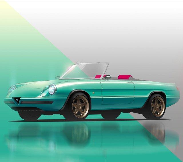 Культовий італійський кабріолет 80-х стане електрокаром: фото - фото 397187