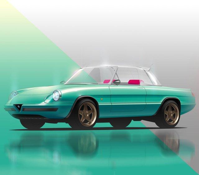 Культовий італійський кабріолет 80-х стане електрокаром: фото - фото 397188