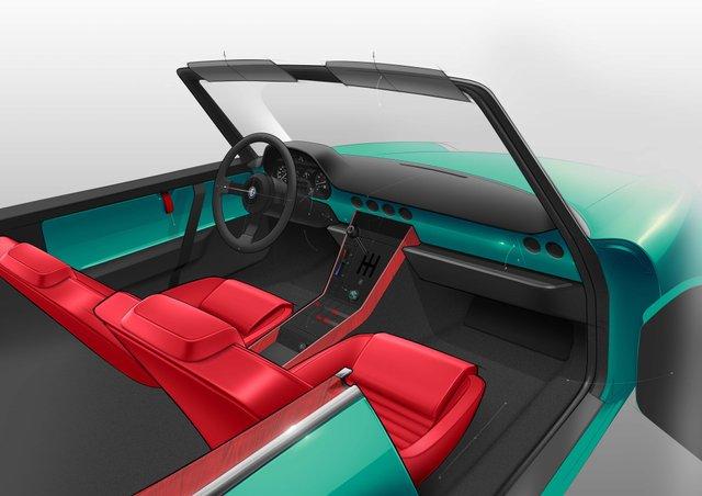 Культовий італійський кабріолет 80-х стане електрокаром: фото - фото 397189