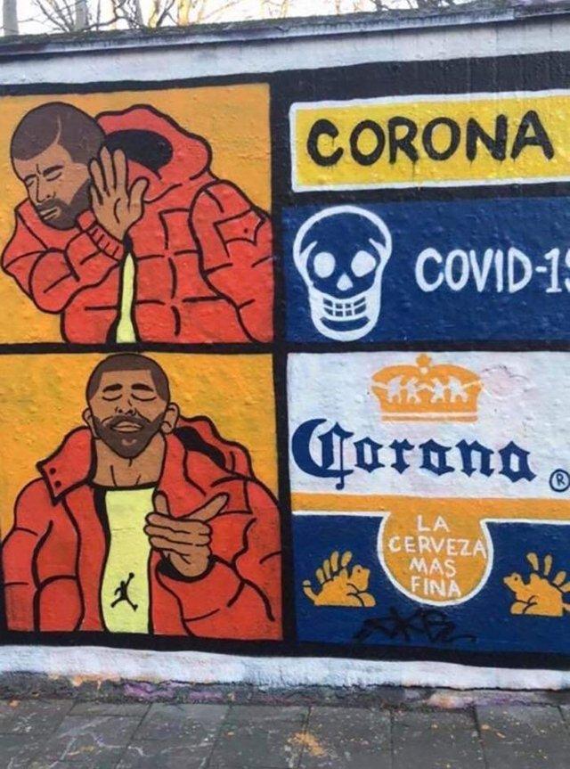 Потужні графіті про коронавірус: добірка фото з усього світу - фото 397598