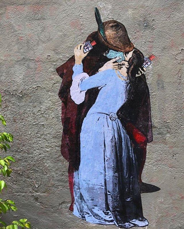 Потужні графіті про коронавірус: добірка фото з усього світу - фото 397599