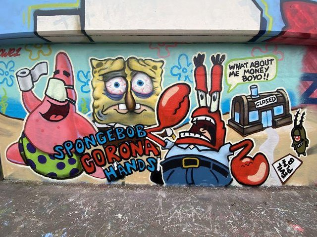 Потужні графіті про коронавірус: добірка фото з усього світу - фото 397604