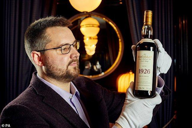 У Шотландії виставили на аукціон найдорожчий напій у світі - фото 398850