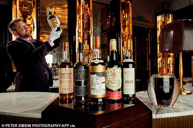 У Шотландії виставили на аукціон найдорожчий напій у світі - фото 398851