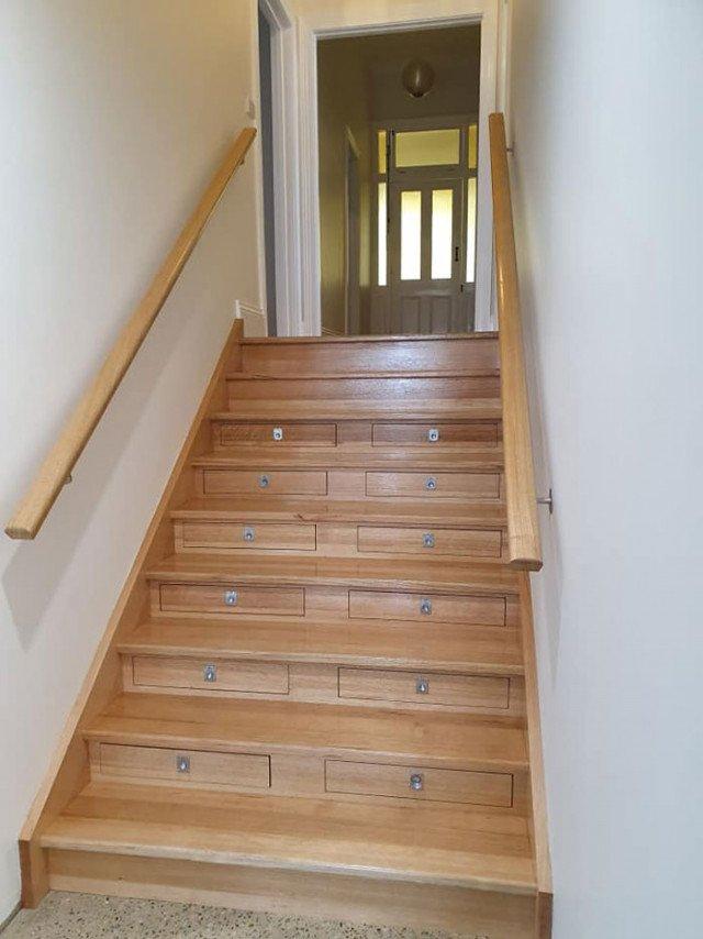 Австралієць вигадав, як круто використати дерев'яні сходи (фото) - фото 398994