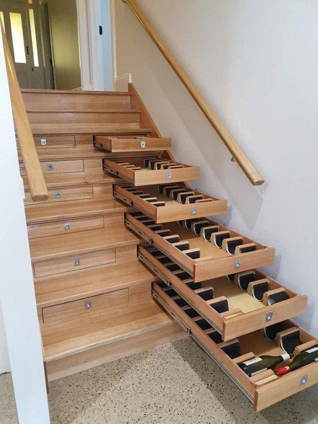 Австралієць вигадав, як круто використати дерев'яні сходи (фото) - фото 398995