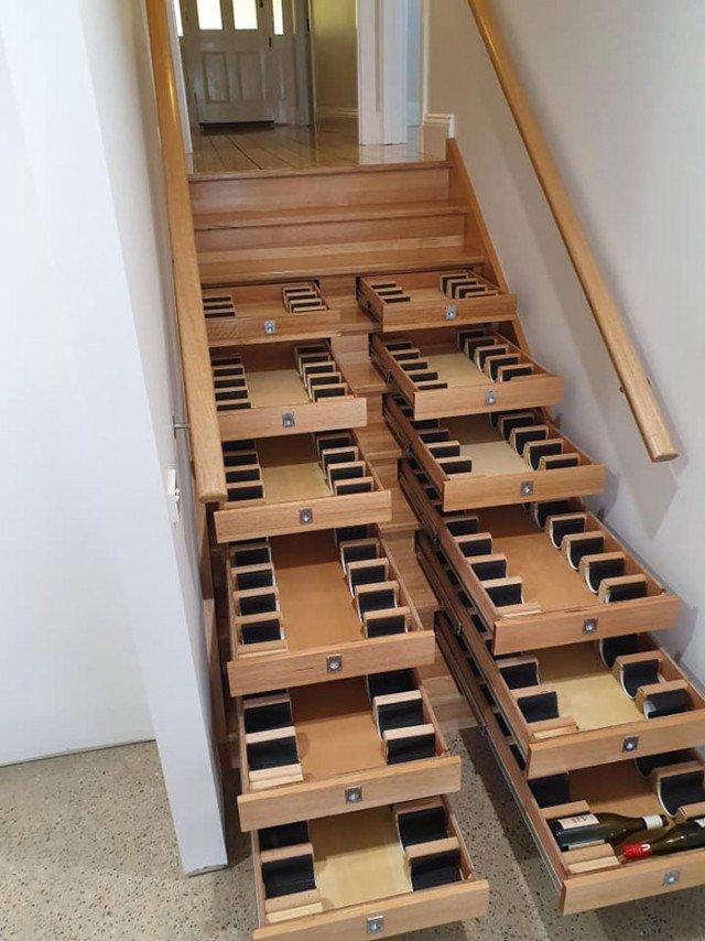 Австралієць вигадав, як круто використати дерев'яні сходи (фото) - фото 398996