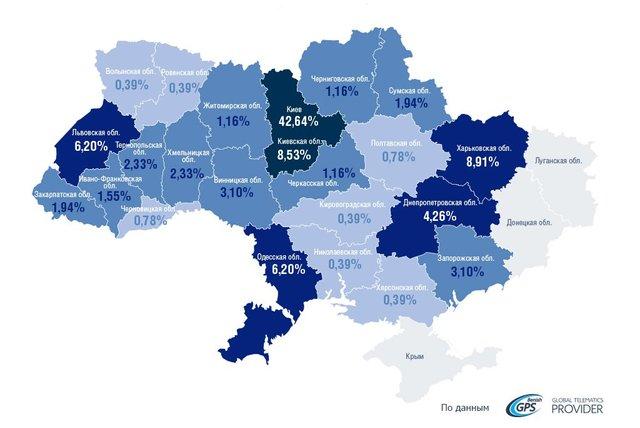 Названі найпопулярніші авто серед викрадачів в Україні - фото 402299