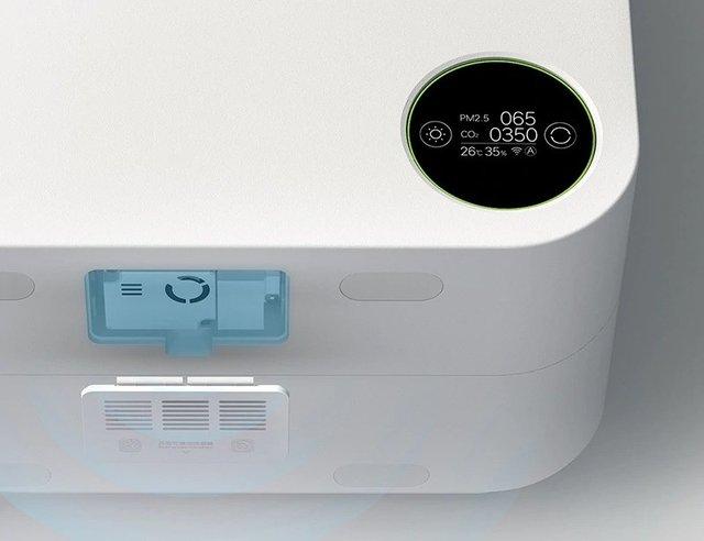 Xiaomi випустила розумний очищувач повітря з функцією обігрівача - фото 404232
