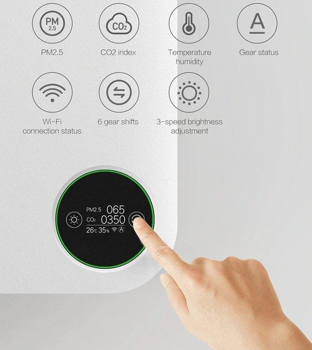 Xiaomi випустила розумний очищувач повітря з функцією обігрівача - фото 404233