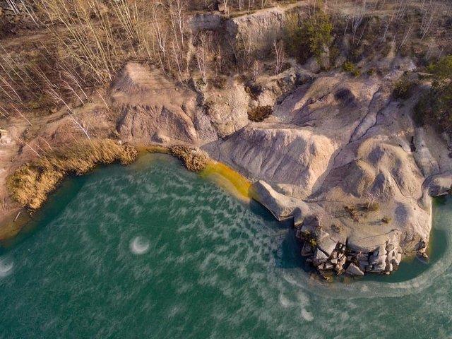 Коростишівський кар'єр на Житомирщині: ідеальне місце для відпочинку на вихідних - фото 405190