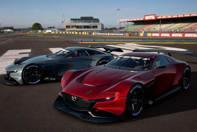 Mazda представила концепт геймерського суперкару RX-Vision GT3 - фото 405587