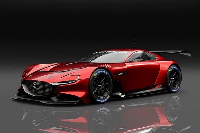 Mazda представила концепт геймерського суперкару RX-Vision GT3 - фото 405588