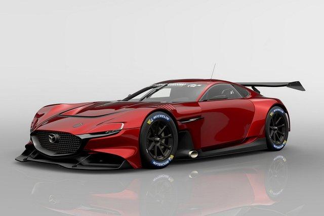 Mazda представила концепт геймерського суперкару RX-Vision GT3 - фото 405589