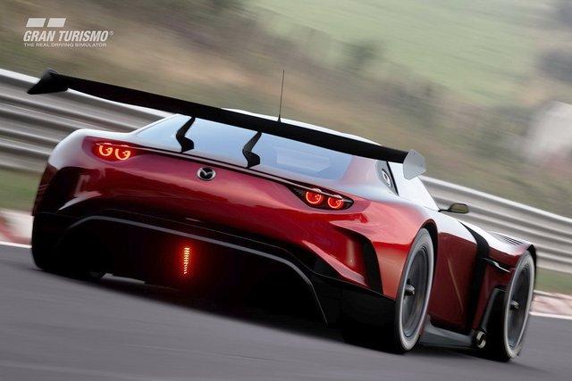 Mazda представила концепт геймерського суперкару RX-Vision GT3 - фото 405590