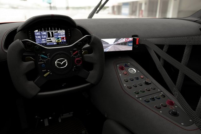 Mazda представила концепт геймерського суперкару RX-Vision GT3 - фото 405591