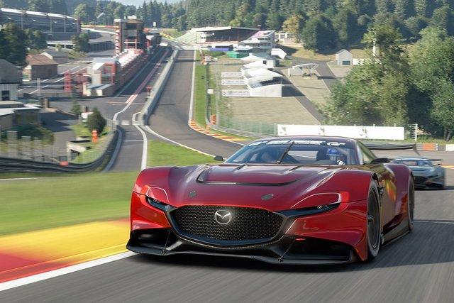 Mazda представила концепт геймерського суперкару RX-Vision GT3 - фото 405592