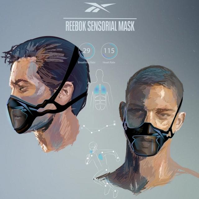 Reebok випустив інноваційні захисні маски - фото 405950