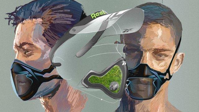 Reebok випустив інноваційні захисні маски - фото 405952