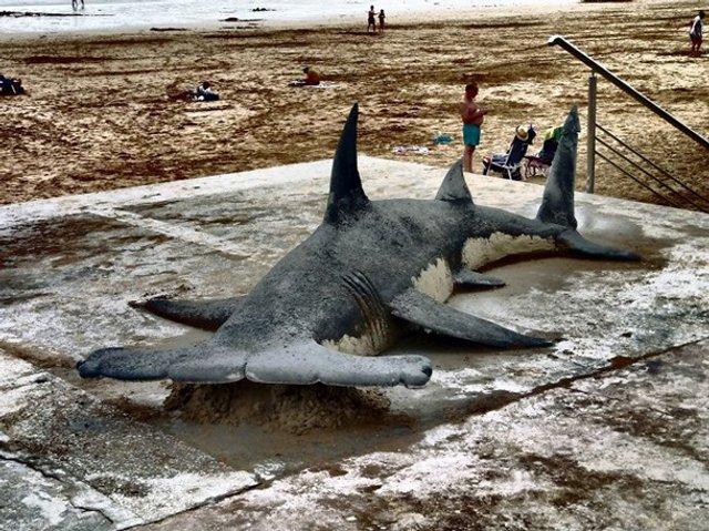 Цей чоловік створює з піску неймовірні реалістичні скульптури - фото 406167
