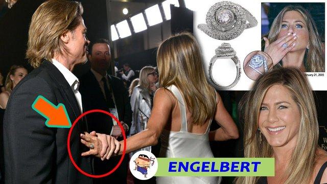 Дженніфер Еністон досі носить обручку від Бреда Пітта - фото 406333