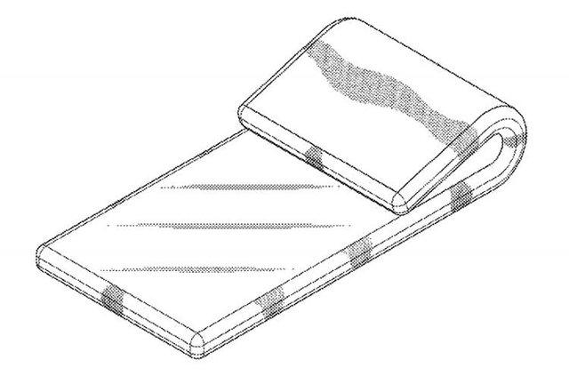 Samsung розробляє смартфон, який можна зігнути у 'вісімку' - фото 407474