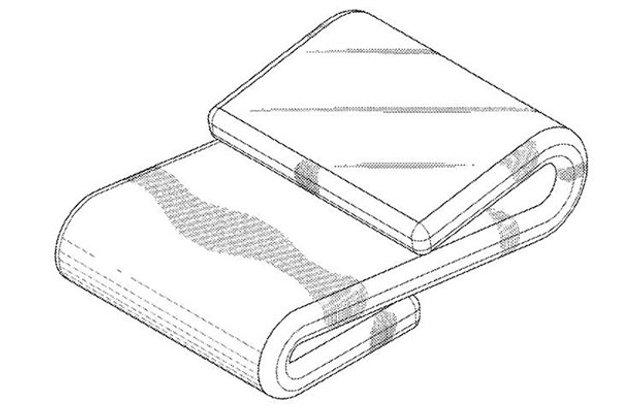 Samsung розробляє смартфон, який можна зігнути у 'вісімку' - фото 407475